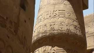 Египет, г.Луксор, Карнакский храм(Все периоды египетской истории XVI—XI вв. до н. э. оставили здесь следы; каждый фараон — не исключая даже гиксо..., 2013-03-02T18:21:51.000Z)