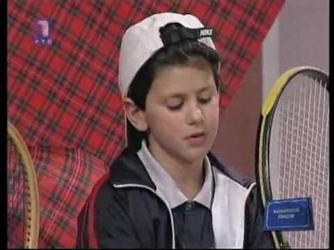 7 Years Old Novak Djokovic - First Interview