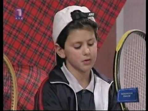 7 Years Old Novak Djokovic First Interview Youtube