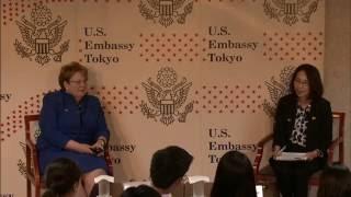 米国大使館主催: テレサ・A・サリバン バージニア大学 学長講演会:ダイバーシティの強み