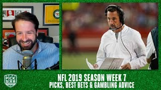 Week 7 Picks Against the Spread, Best Bets, Gambling Advice | Pick Six Podcast