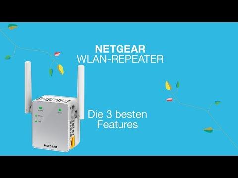 Vorschau: Die 3 besten Features Netgear WLAN-Repeater I Dreiland