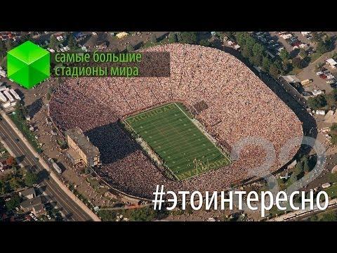 #этоинтересно | Выпуск 32: Самые большие стадионы