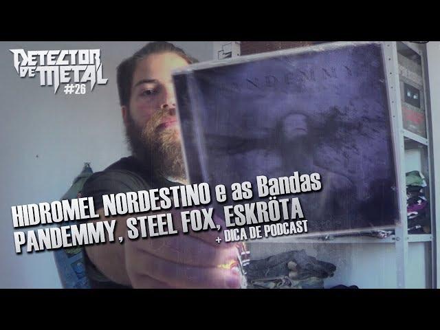 PANDEMMY, STEEL FOX E ESKRÖTA | DETECTOR DE METAL 26