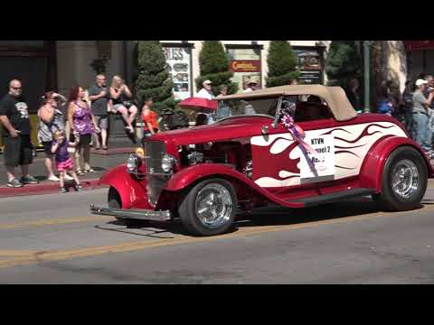 Hot August Nights Grand Finale Parade 2019  Downtown Reno