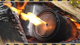 How To Make Charcoal (Using Stir Sticks and Paint Cans)