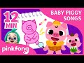 Drawing Baby Piggy and more | +Compilation | Baby Piggy Songs | Pinkfong Songs for Children
