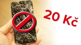 Jak koupit a nalepit ochranné tvrzené sklo na mobil za 20 Kč ?