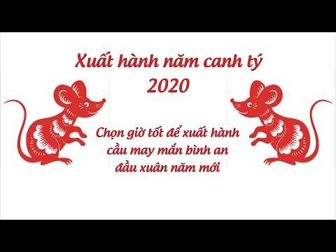 Giờ Xuất Hành Năm Canh Tý 2020 -  PX P