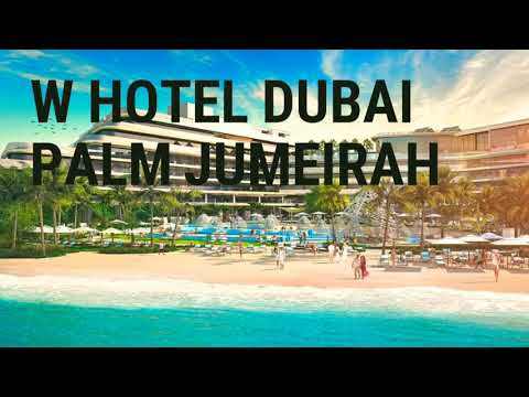 W Hotel Dubai Palm Jumeirah – an exclusive first look into the brand new Resort