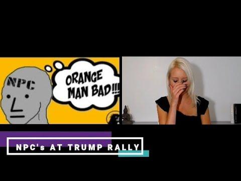 NPC Meme Orange Man Bad | Phoenix Trump/ McSally Rally ...