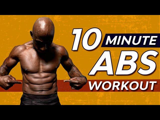 Killer 10 Minute Super Abs Workout – Follow Along