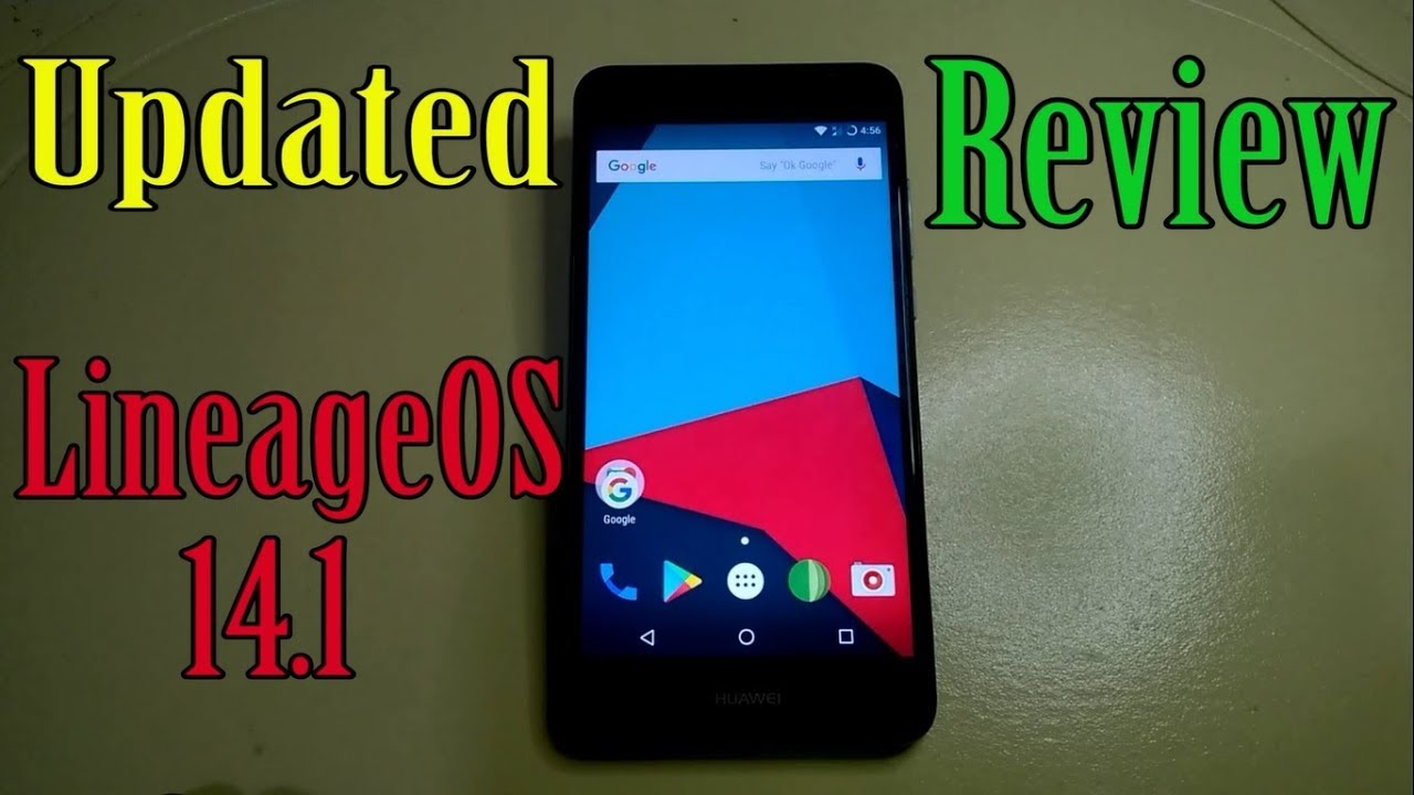 Updated LineageOS 14 1 REVIEW