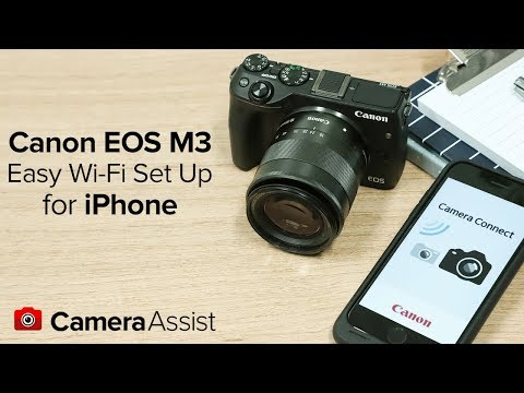 Connect your Canon EOS M3 to your iPhone via Wi-Fi