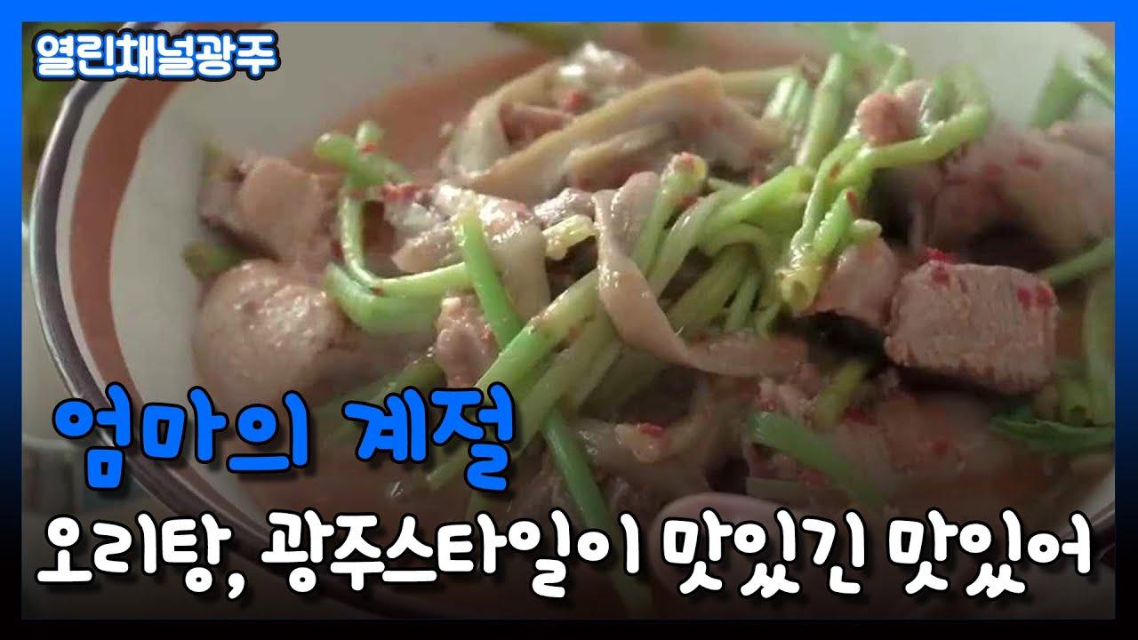 [열린채널광주] 오리탕, 광주스타일이 맛있긴 맛있어|KBS 210303 방송