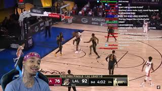 FlightReacts Miami Heat vs Los Angeles Lakers - Full Game 2 Highlights | October 2, 2020 NBA Finals!