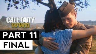 CALL OF DUTY WW2 #11 FINAL FULL HD 60FPS | No Comentado | Español | Gerardo Chávarry