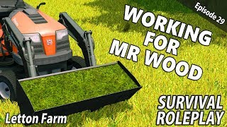 MOWER & THE MINI LOADER | Survival Roleplay | Farming Simulator 17 - Letton Farm - Ep 29