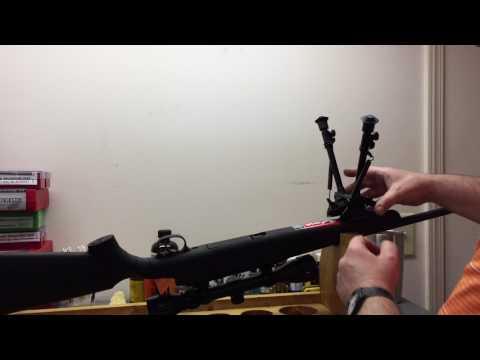 Installing A Harris Type Bi-Pod