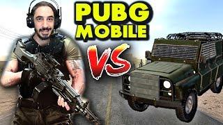 M249  VS  ZIRHLI ARAÇ - PUBG Mobile (One Man Squad)