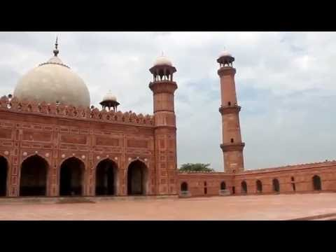 360-Degree View inside The Imperial Mosque (Badshahi Mosque)