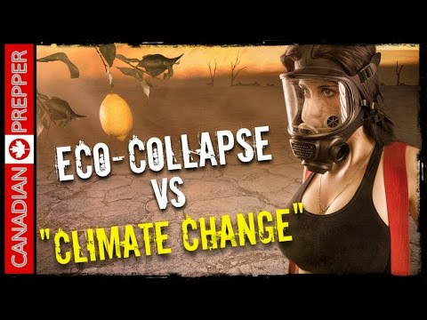 Climate Change Or Ecological Collapse? Prepping and SHTF | Canadian Prepper