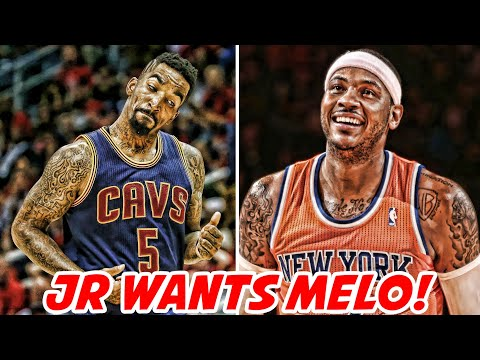 JR SMITH WANTS CARMELO ANTHONY ON THE CAVS! ROCKETS HAVE TRICK TO BEAT WARRIORS?! | NBA News