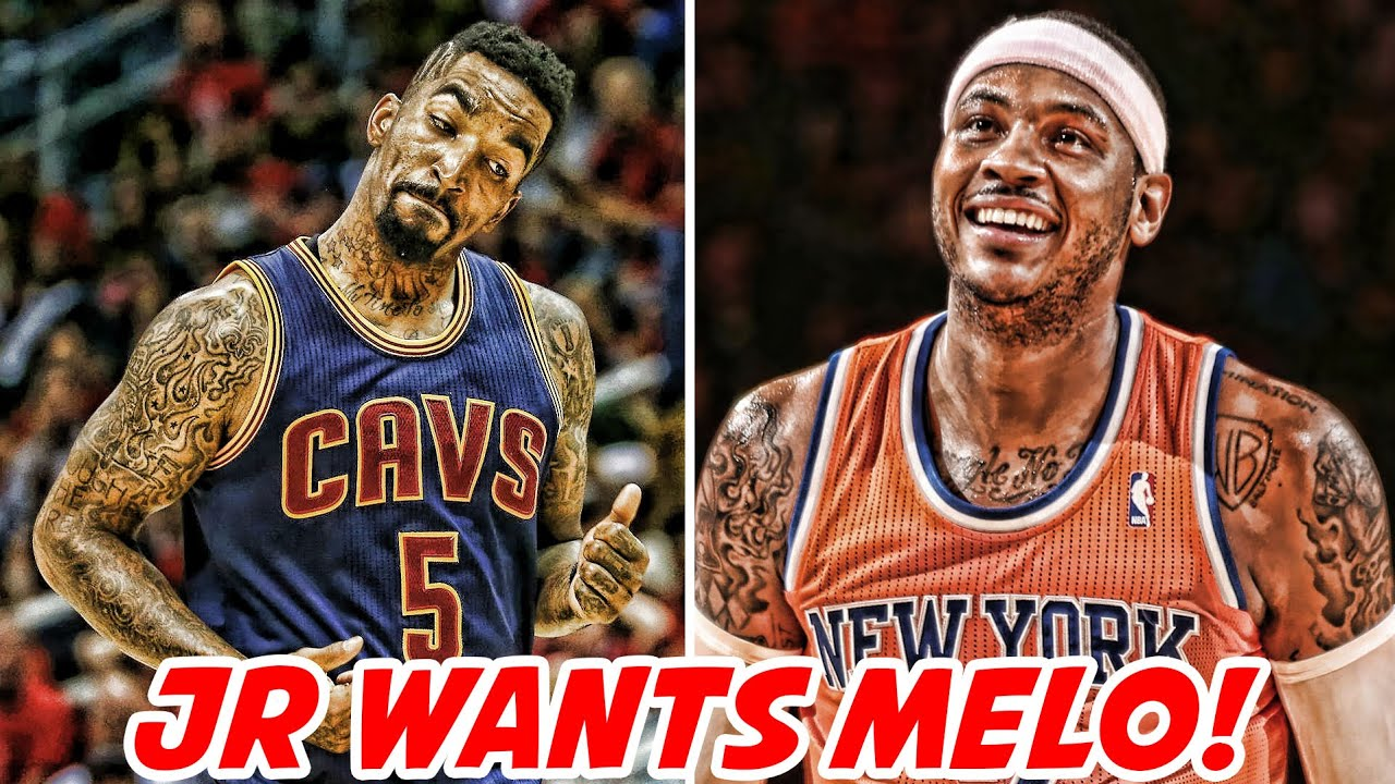 JR SMITH WANTS CARMELO ANTHONY ON THE CAVS! ROCKETS HAVE