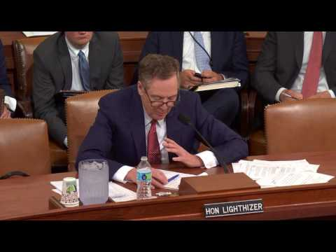 Rep. DelBene questions U.S. Trade Representative Robert Lighthizer