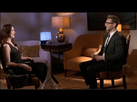 FIFTY SHADES DARKER interviews - Jamie Dornan, Dakota Johnson, E.L. James