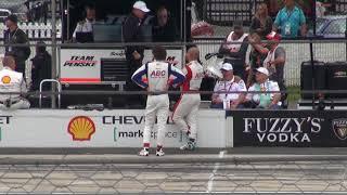 Robert Wickens Crash at Pocono Raceway