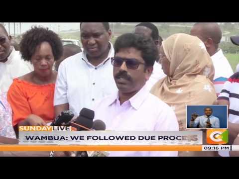 MP's probe grabbing in Mombasa #SundayLive