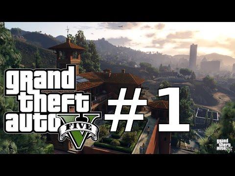 Let's Play GTA 5 PC German / Deutsch Part 1 – Welcome to Los Santos | HD+ 60 FPS Ultra | Gameplay