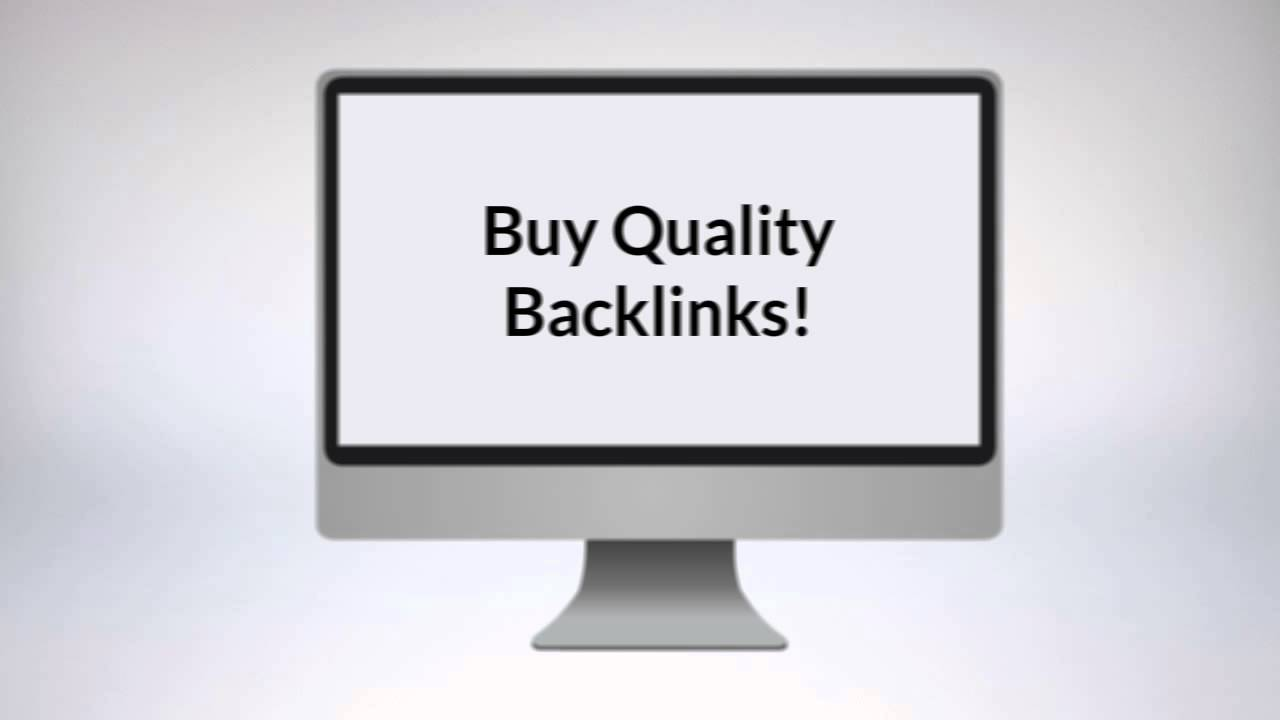 Where To Buy Backlinks - YouTube