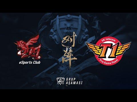 SK telecom T1 ( SKT ) vs ahq e-Sports Club ( AHQ ) Maç Özeti | Worlds 2017 Grup Aşaması