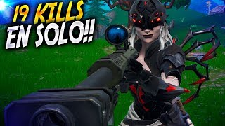 19 KILLS with the SKIN most TERRORIFIC! | Fortnite Battle Royale ? Rubinho vlc