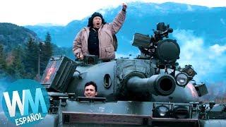 ¡Top 10 Escenas de Tanques en Películas!