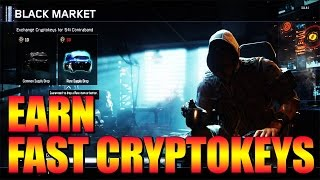 FASTEST WAY TO EARN CRYPTOKEYS IN BO3! - Secret Multiplier For Black Market Supply Drops