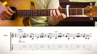 Cô gái m52 - Huy ft Tùng Viu | Guitar intro TAB