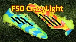 Adidas F50 Adizero FG neon crazy light (With images