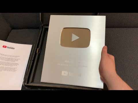 Unboxing my YouTube Play Button