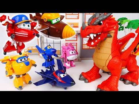 Thumbnail: Evil Dragon is Destroying The City~! Go Go Super Wings Defeat The Red Dragon - ToyMart TV