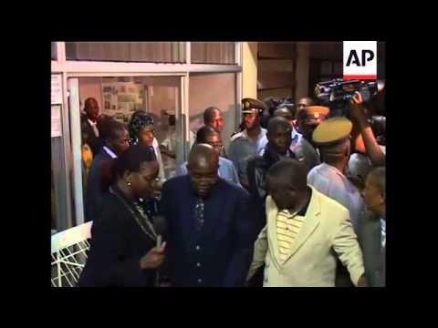 WRAP Tsvangirai's wife killed in crash, Mugabe at hospital, scene ADDS file