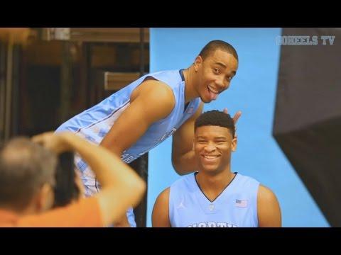 UNC Men's Basketball: Fun at Photo Day