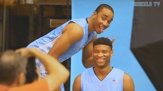 UNC Men's Basketball: Fun at Photo Day