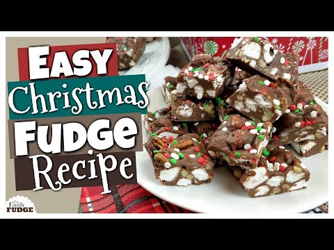 Download Youtube: How to Make EASY Christmas FUDGE 🎄 Virtual Cookie Exchange Collab