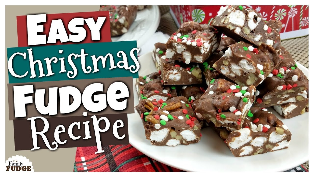 How To Make Easy Christmas Fudge Virtual Cookie Exchange Collab