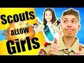 Boy Scouts of America Allows Girls
