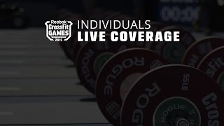 The CrossFit Games - Individual Triangle Couplet
