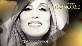CINDY COWAN WOMAN OF THE YEAR HONOREE CARD